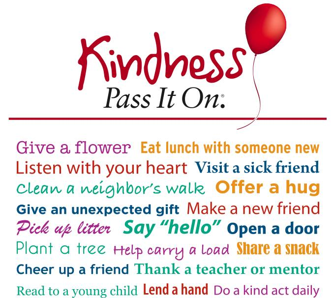 K is for … kindness