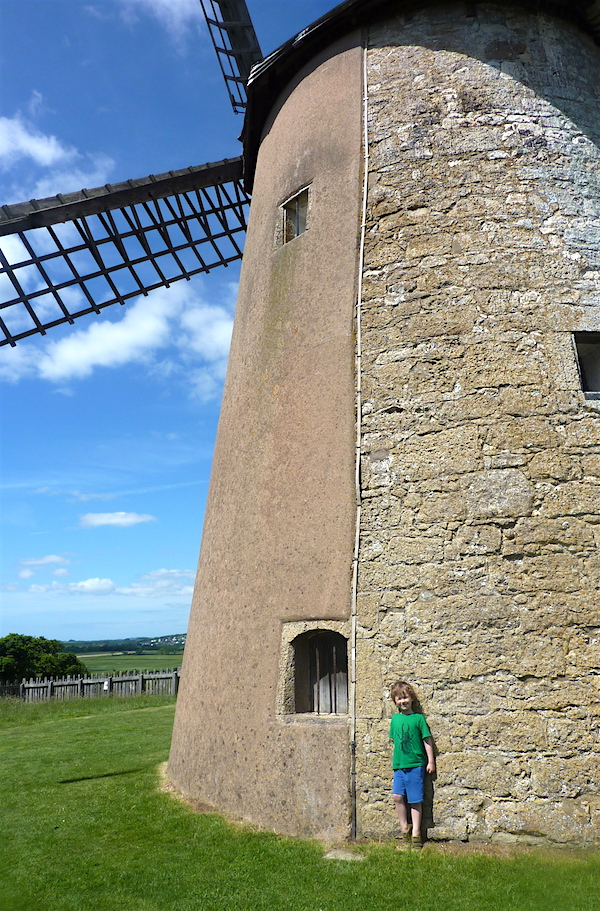 Me and Mine [June 2017] – Bembridge Windmill NT, IoW