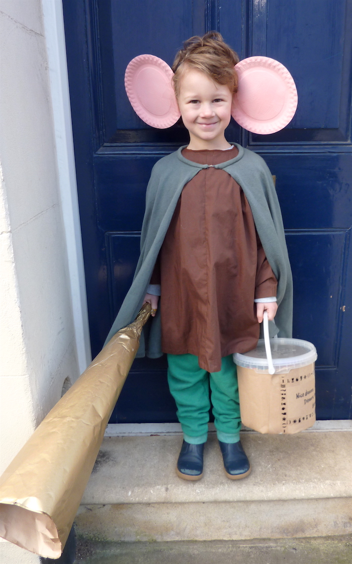 making a BFG costume for world book Day