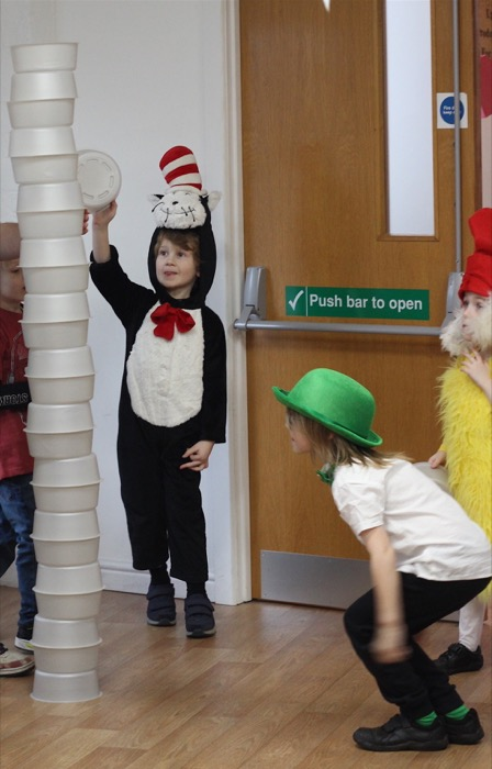 a Dr Seuss birthday party