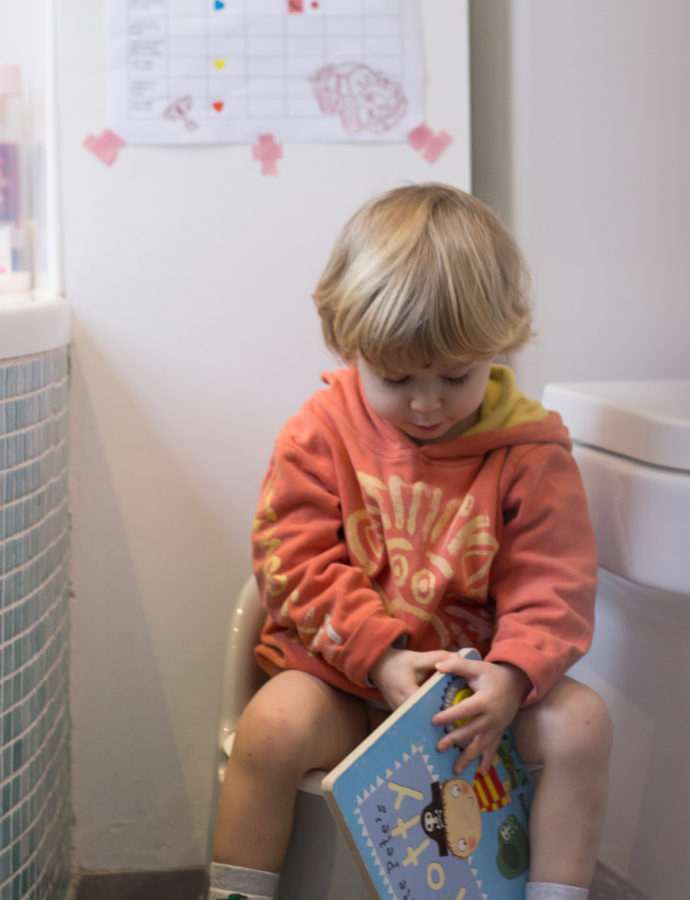 nappy free with the OXO Tot potty chair (a review)