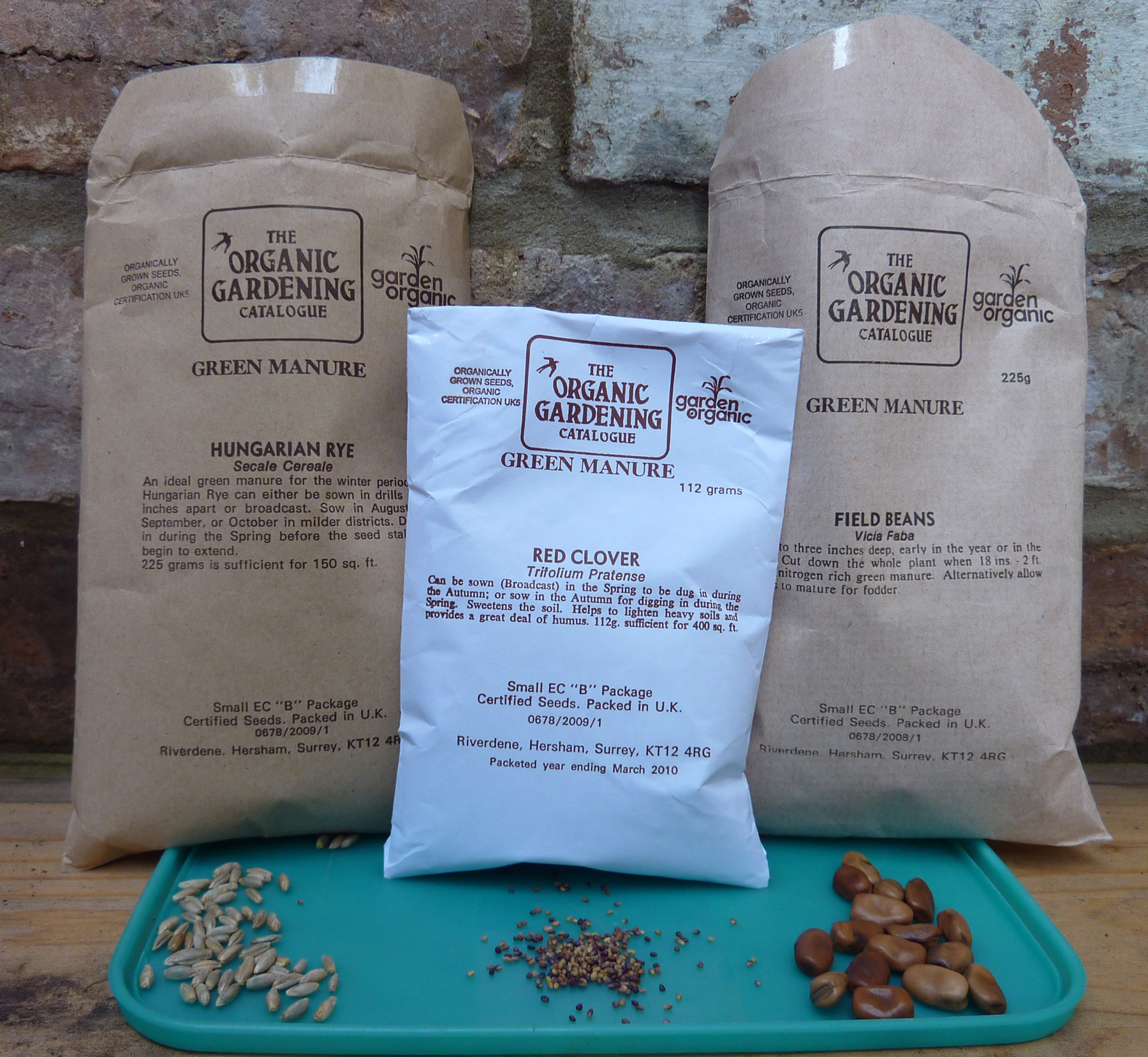Green manure packets