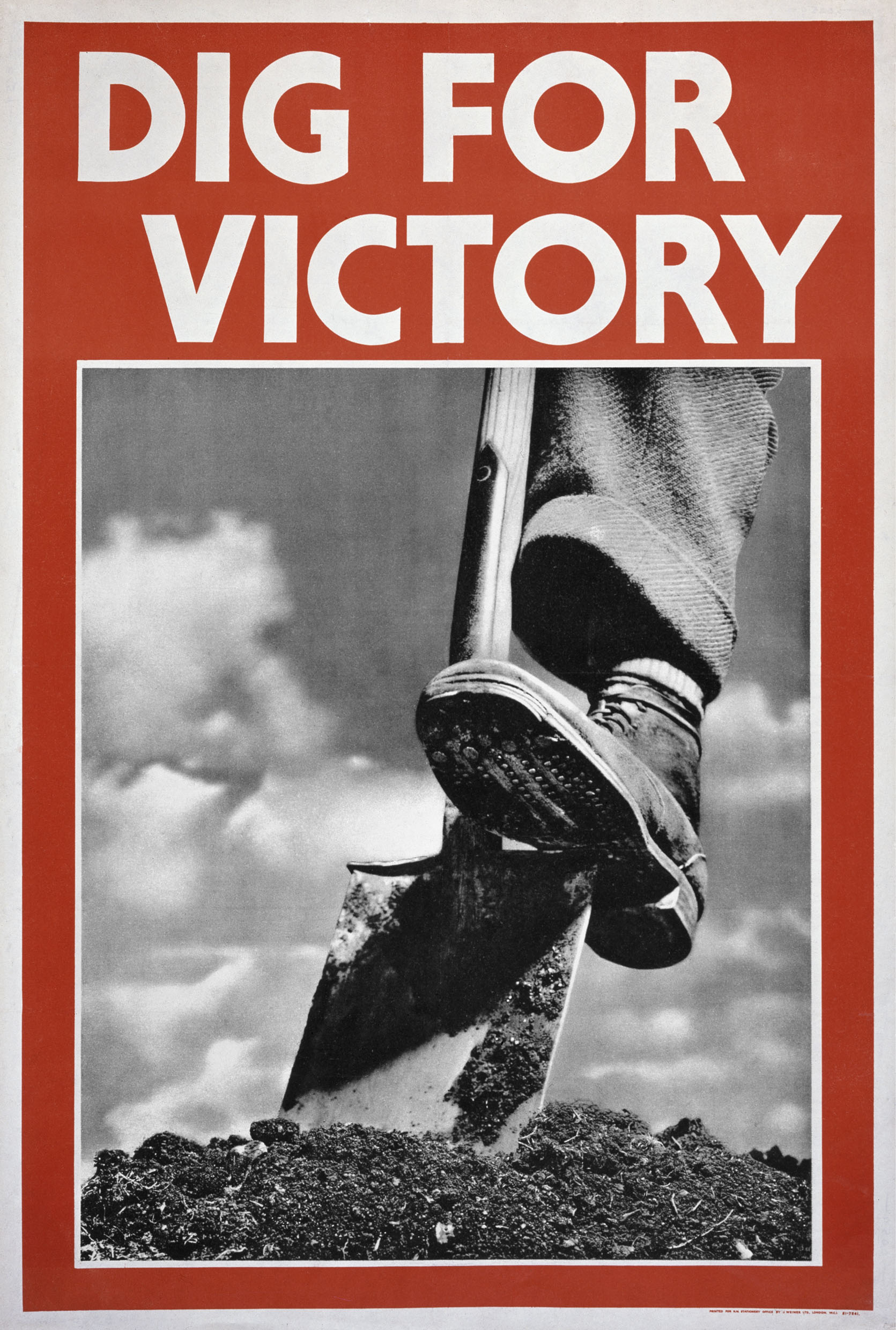 Dig For Victory, 1942, IWM PST 0059