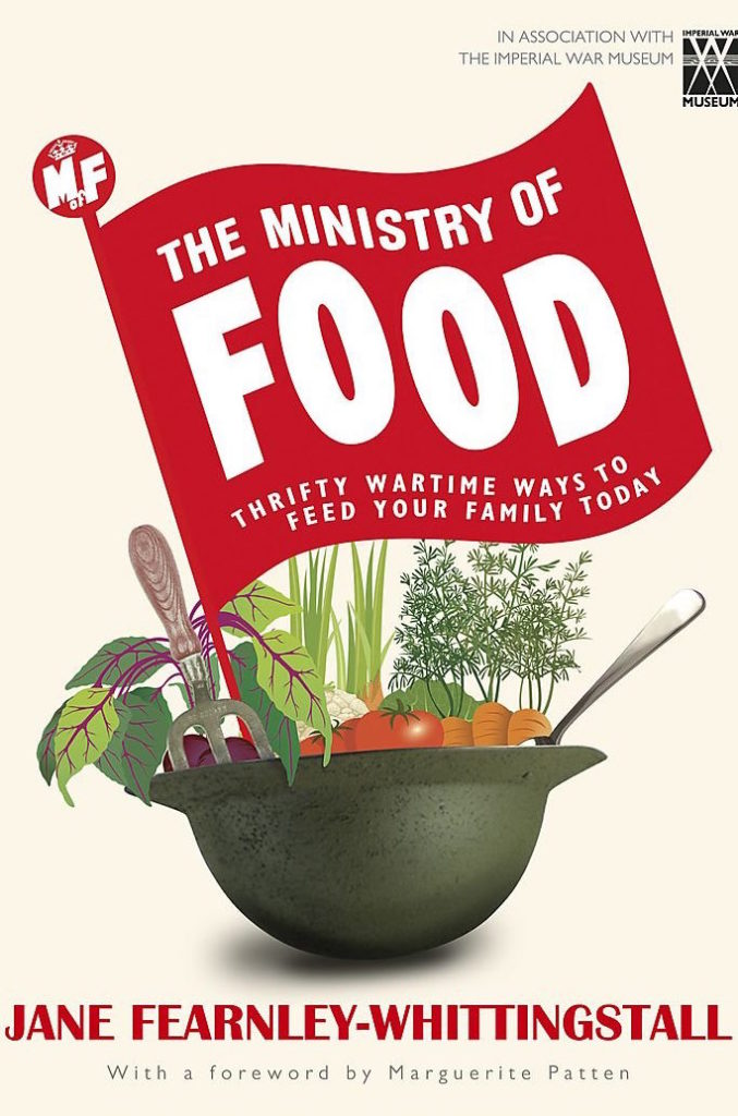 Ministry of Food- thrifty wartime ways to feed your family today book cover