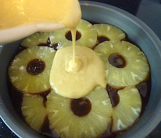 Pineapple upside down cake 1 4B