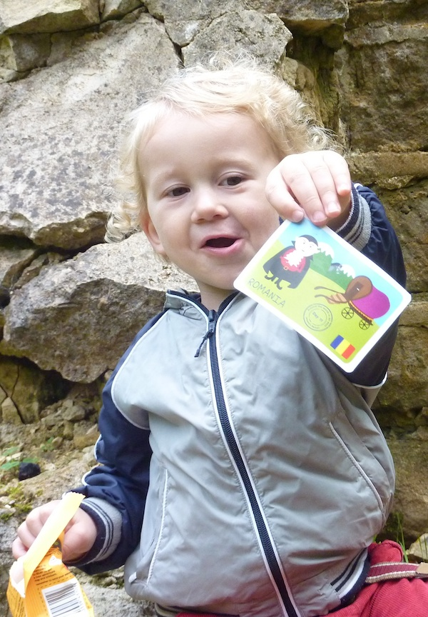 E up Leckhampton Hill_yo yo bear card 4B