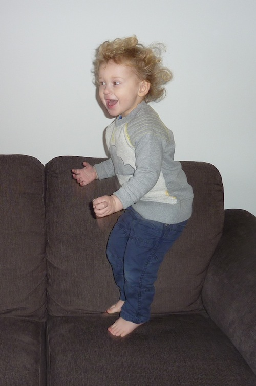 22-1-15 - E jumping on the sofa 2 4B