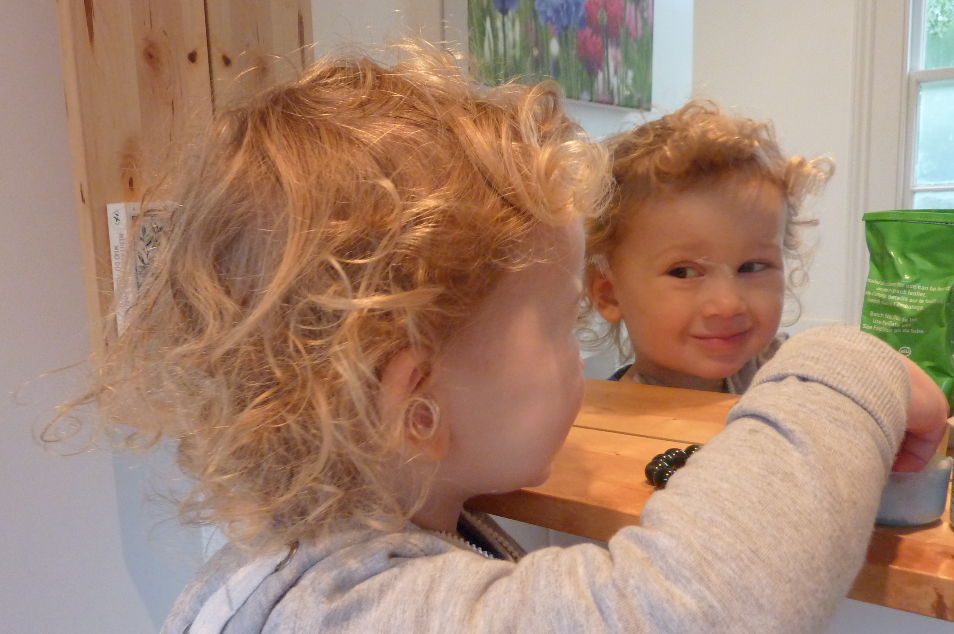 A Curly Back And Sides A First Haircut Nipitinthebud