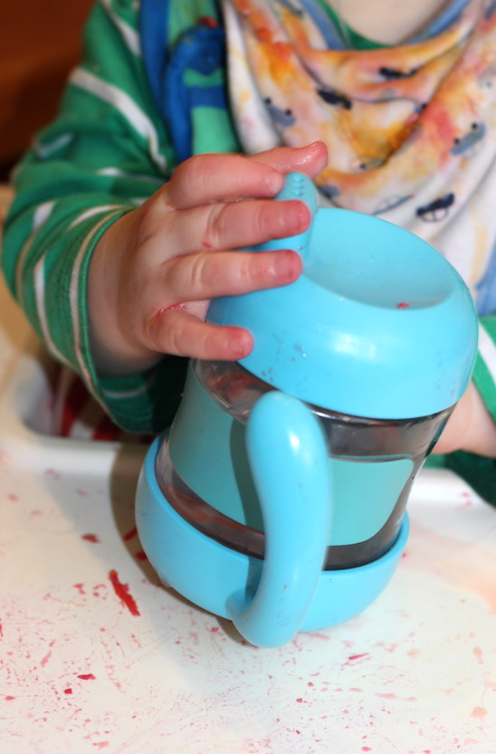 trialling toddler proof water bottles (an OXO Tot review)
