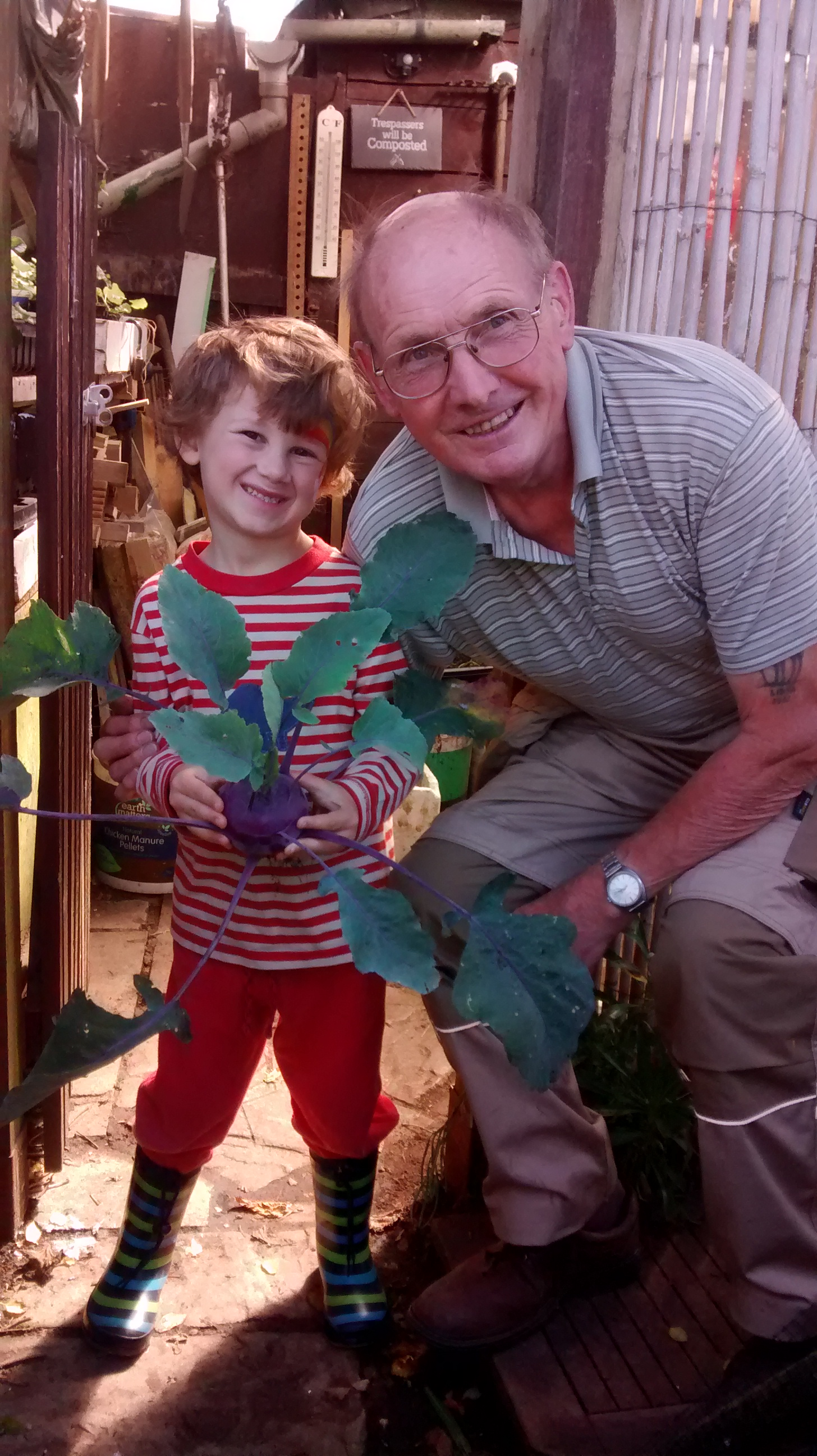 gardening with kids – back on the plot with a little helper