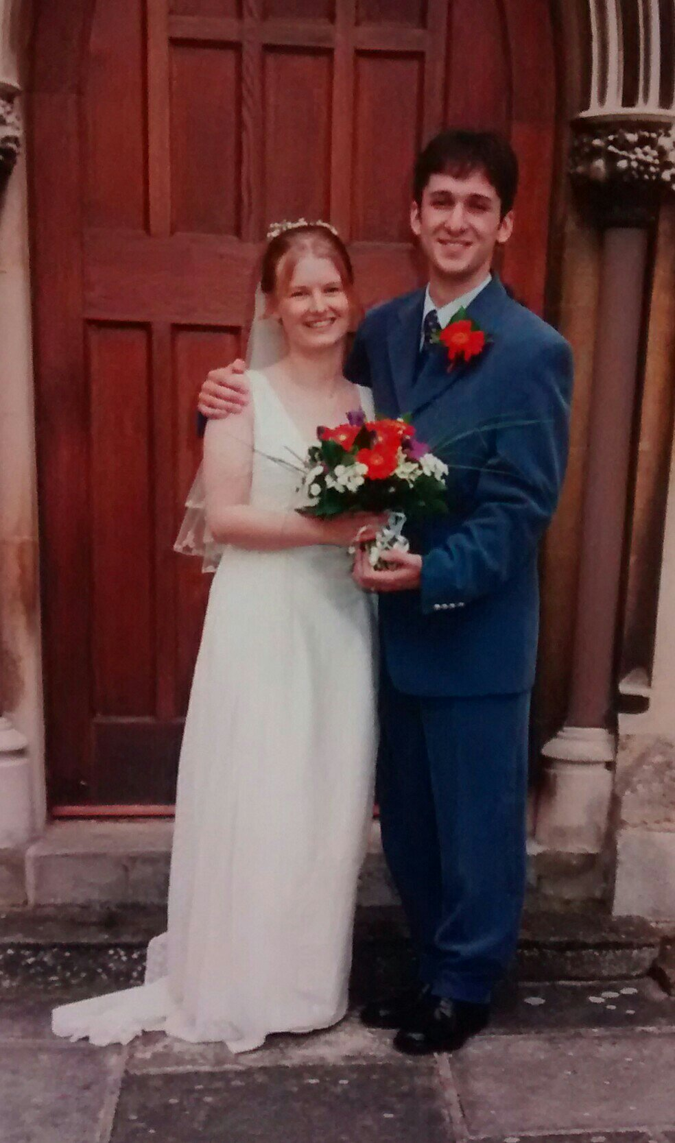 a bronze wedding anniversary (19 years)