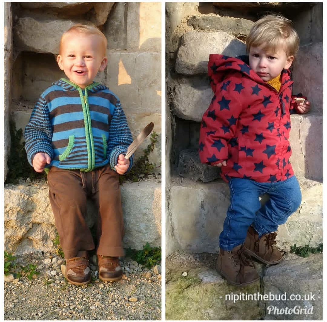 January 2018 - St Oswalds ruins_21 month old brothers copy for blog