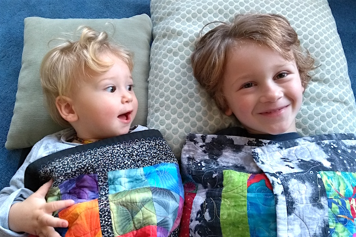 brothers in blanket - nipitinthebud blog