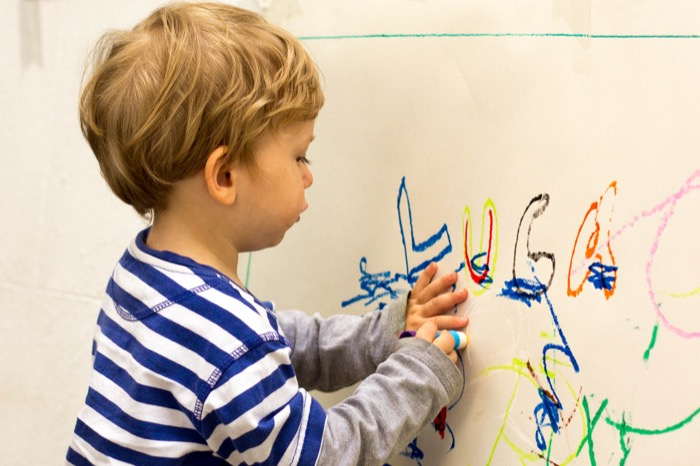 artists at work with Little Brian paint sticks - nipitinthebud.co.uk-4