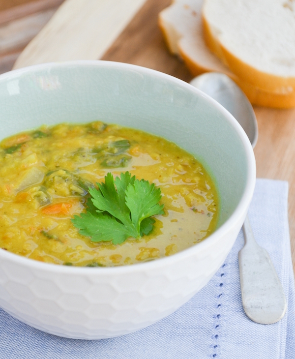 Carrot, Lentil and Spinach Soup - Tinnedtomatoes
