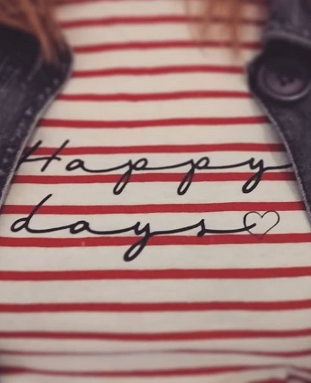 Happy days tshirt - nipitinthebud.co.uk